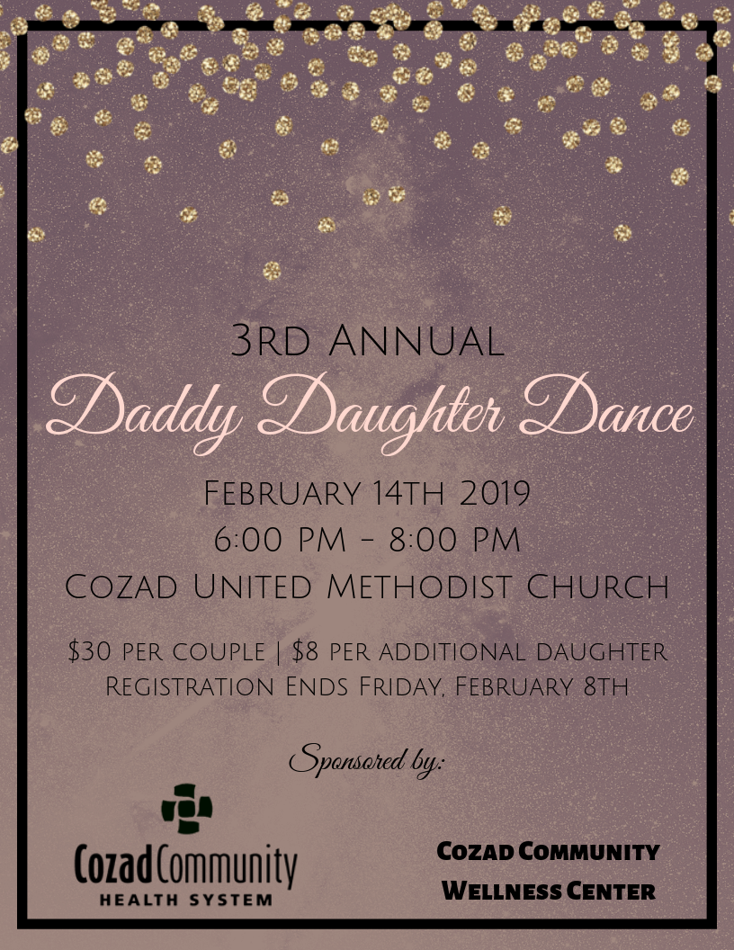 3rd Annual Daddy Daughter Dance Flyer